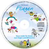 "Kinderlieder-CD ""Fliegen"": Label"