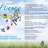 """Kinderlieder-CD """"Fliegen"""": Innenseite 1"""
