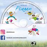 """Kinderlieder-CD """"Fliegen"""": Innenseite 2"""