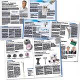 """Fachnewsletter """"pronews"""" von Zimmer Biomet: Innenseitenlayout"""