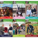 """Magazin """"Wentorf im Blick"""" - ehrenamtliche Bürgerinformationszeitschrift: Titelseiten"""