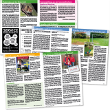 """Magazin """"Wentorf im Blick"""" - ehrenamtliche Bürgerinformationszeitschrift: Innenseitenlayout"""