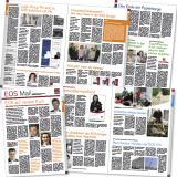 """Zeitung """"EOS-Mail"""" für die Mitarbeiter der EOS-Gruppe: Innenseitenlayout"""