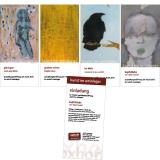 Flyer: Ausstellungen
