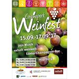 Casinopark Weinfest: Poster