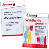 Stadt Reinbek – Poster