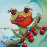 Der Frosch aus Sanozama