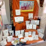 Mal mit... | Ausmalbilder: Edding auf Leinwand | Mal-Aktion mit Kindern in der Buchhandlung Wentorfer BÜCHERWURM 2019