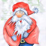 dicker Santa